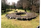 Ring cairn at Clava, Inverness, Highland