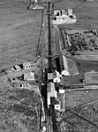 Aerial view of Beoch No.4 Drift Mine, Ayrshire