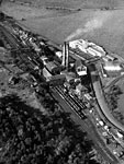 Aerial view of Auchincriuve No.1, No.2 and No.3 Colliery, Ayrshire