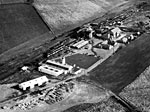 Aerial view of Auchincriuve No.4 and No.5 Colliery, Ayrshire