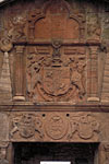 Royal Sites and Associations (James VI, Huntly Castle, heraldic fireplace)