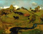'A Galloway Landscape', 1889 by George Henry