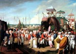 3.21 Lord Cornwallis Receiving Tipu Sahib's Sons as Hostages at Seringapatam