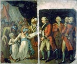 3.25 Lord Cornwallis Receiving the Sons of Tipu as Hostages