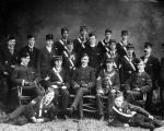 1st Glasgow Company Boys Brigade in 1895 with Sir William Smith