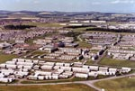 Aerial view of Craigshill, Livingston