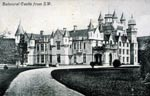 Balmoral Castle from south west