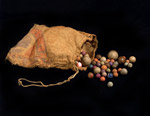 Bag of Marbles, Monksfoot, Glespin, 1900-1930
