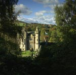 Abbotsford House, home of Sir Walter Scott, Scottish Borders