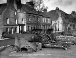 Captured German Guns On Kirk Green, Kirkwall, Beside Mercat Cross