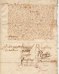 17th century document