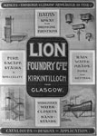 Advert for Lion Foundry