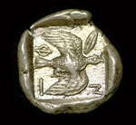 007 Ancient Greek silver stater of Siphnos (early 5th century BC)