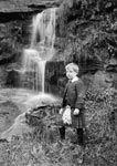 """A Young Highlander"" Photographed in the Buckie Braes, Perth, about 1911"