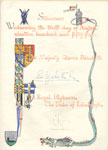 Royal Burgh of Stranraer Visitors Book