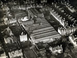 Aerial view of Belmont Works, Dundee, 11 December 1922