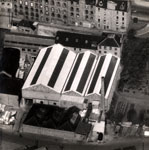 Aerial photograph of Seabraes Mill, c1963