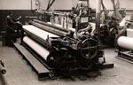 4-yard loom for railway carriage roofing at the Boase Spinning Company Limited, Dundee, 1946