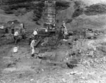 Bay Mine Excavation 1974