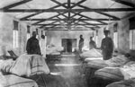 Hospital ward, France, during World War I