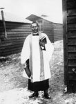 Black priest, Western Front, during World War I