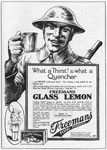 Advertisement for 'Glass Lemon'