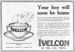 Advertisement for Ivelcon beef beverage
