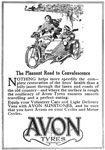 Advertisement for Avon Tyres