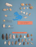 Collection of 10 flints and arrowheads