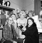 100,000th visitor to panto 1976