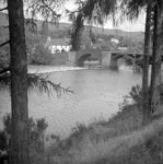 Fort Augustus. Old Oich Bridge over River Oich