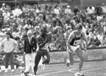 100m sprint Commonwealth Games, 1986
