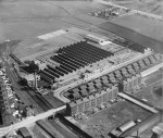 Braidfauld, Glasgow, Scotland, 1929 - Aerial View