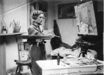 Wilhelmina Barns-Graham Alva St Studio Edinburgh 1937