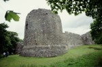 General view of Inverlochy Castle, castle of the Comyn family