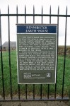 Information panel for Rennibister earth house