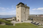 General exterior view of Broughty Castle, Broughty Ferry