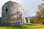 General view of the west tower, Inverlochy Castle