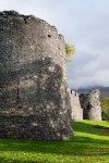 General view of the south and west tower, Inverlochy Castle