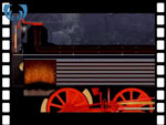 Animation of firebox and boiler from locomotive (video clip)