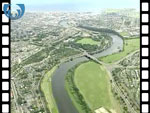 Aerial View of Aberdeen (silent video clip)
