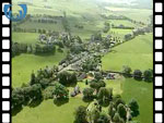 Aerial View of Broughton Village (silent video clip)