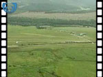 Aerial View of Aboyne Village and Airfield (silent video clip)