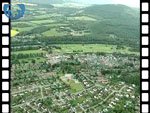 Aerial View of Banchory (silent video clip)