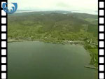 Aerial View of Broadford, Skye (silent video clip)