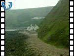 Aerial View of Burnmouth (silent video clip)