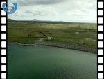 Aerial View of Benbecula (silent video clip)