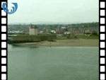 Aerial View of Broughty Ferry & Castle (silent video clip)