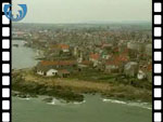 Aerial View of Anstruther (silent video clip)
