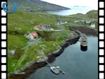 Aerial View of Bridge to Harris from Scalpay (silent video clip)